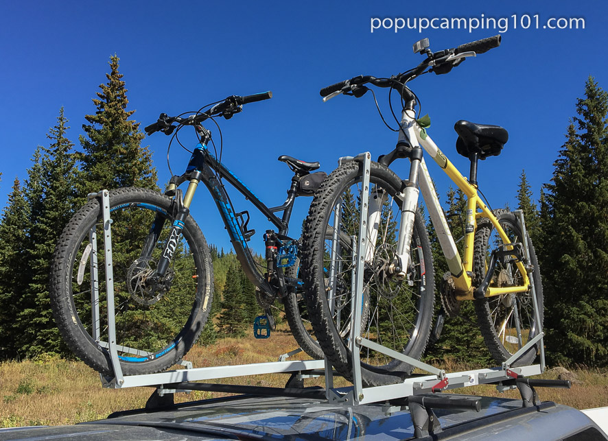 1 UP USA Bike Rack Review – Popup Camping 101